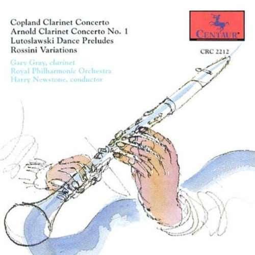 Clarinet Concertos - Copland / Arnold / Gray / Newstone - Musik - CENTA - 0044747221229 - 22/3-1995