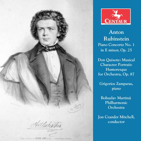 Anton Rubinstein - Grigorios Zaparas - Musik - CENTAUR - 0044747346229 - 2/11-2016