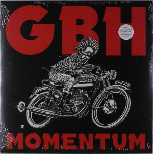 Momentum (Limited Edition Colored Vinyl) - G.b.h. - Musik - ALTERNATIVE/ PUNK - 0045778053230 - 8/11-2017