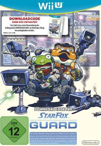 Star Fox Zero Guard.WiiU.2327740 -  - Bøger -  - 0045496336233 -