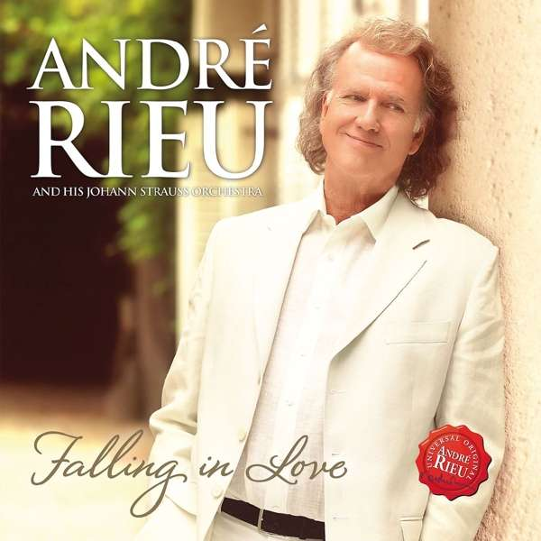 Falling in Love - André Rieu - Musik - UNIVERSAL - 0602557079234 - November 25, 2016