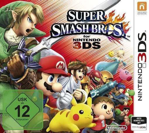 Super Smash Bros.,N3DS.2227340 -  - Bøger -  - 0045496526238 -