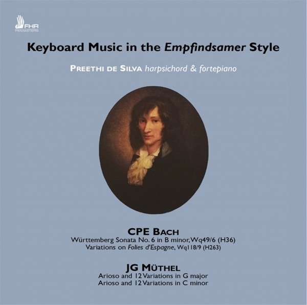 Keyboard Music In The Emphindsamer - Preethi De Silva - Musik - FIRST HAND - 5060216340241 - October 25, 2019