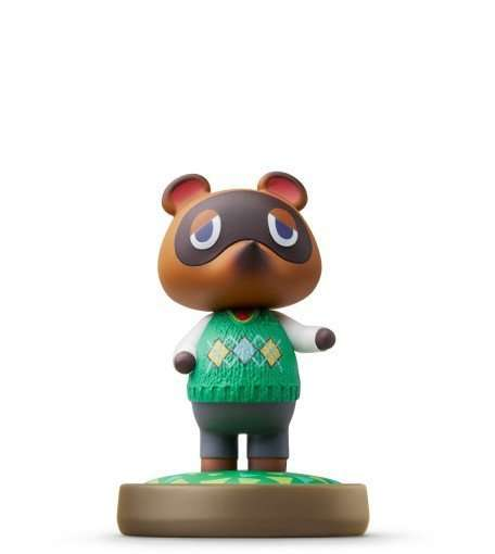 Amiibo Animal Cr.t.nook,figur.1079866 - Multi - Bøger -  - 0045496353247 - 20/11-2015