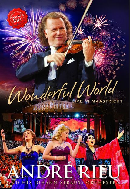 Wonderful World - Live in Maastricht - André Rieu - Film - POLYD - 0602547472250 - 13/11-2015