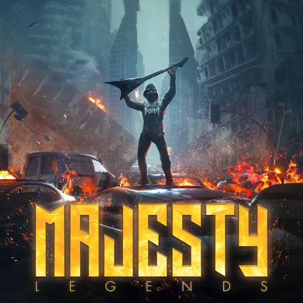 Legends - Majesty - Musik - NAPALM RECORDS - 0840588123254 - 28/6-2019