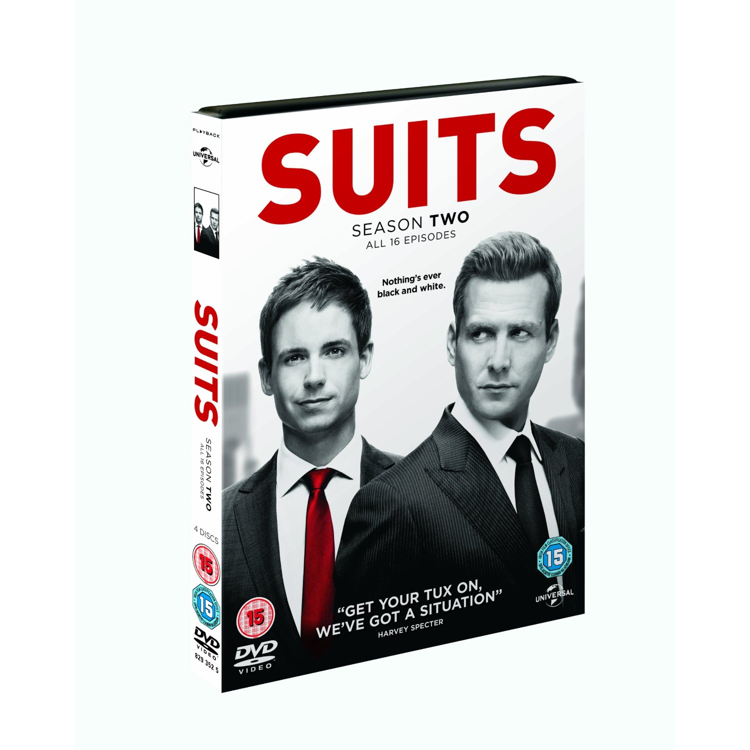 Suits S2 DVD - Warner Video - Film - UNIVERSAL PICTURES - 5050582935257 - 13/5-2013