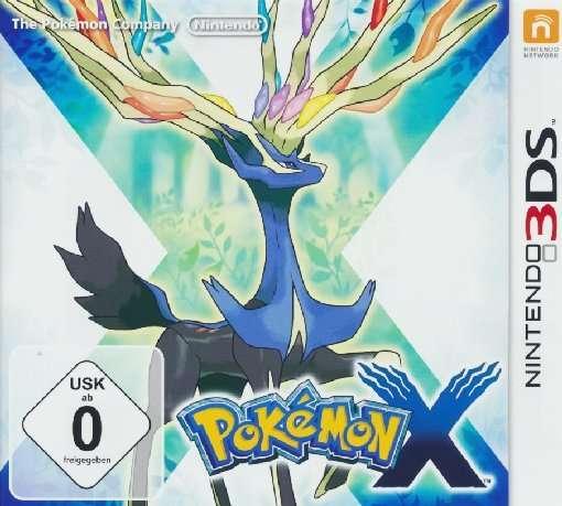 Pokemon X,3DS.2225240 -  - Bøger -  - 0045496524258 -