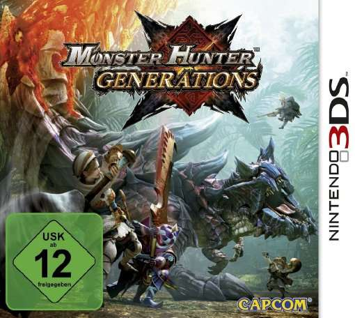 Monster Hunter Generations,3DS.2234240 -  - Bøger -  - 0045496473259 -
