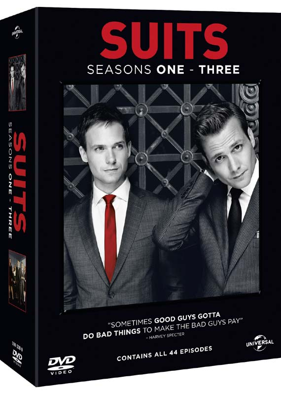 Suits - Season 1-3 - TV Series - Film - UNIVERSAL PICTURES - 5050582975260 - 9/6-2014