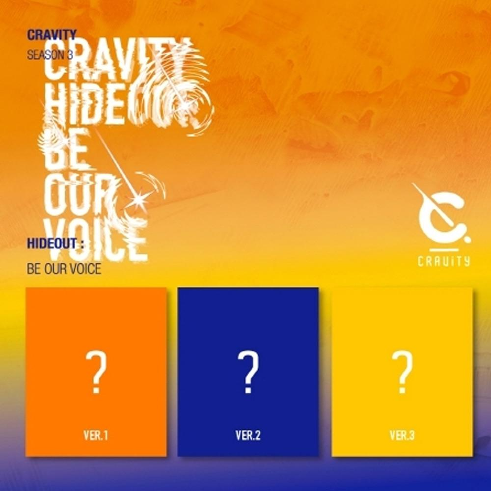 CRAVITY SEASON3. [HIDEOUT: BE OUR VOICE] - CRAVITY - Musik -  - 8804775155260 - 21/1-2021
