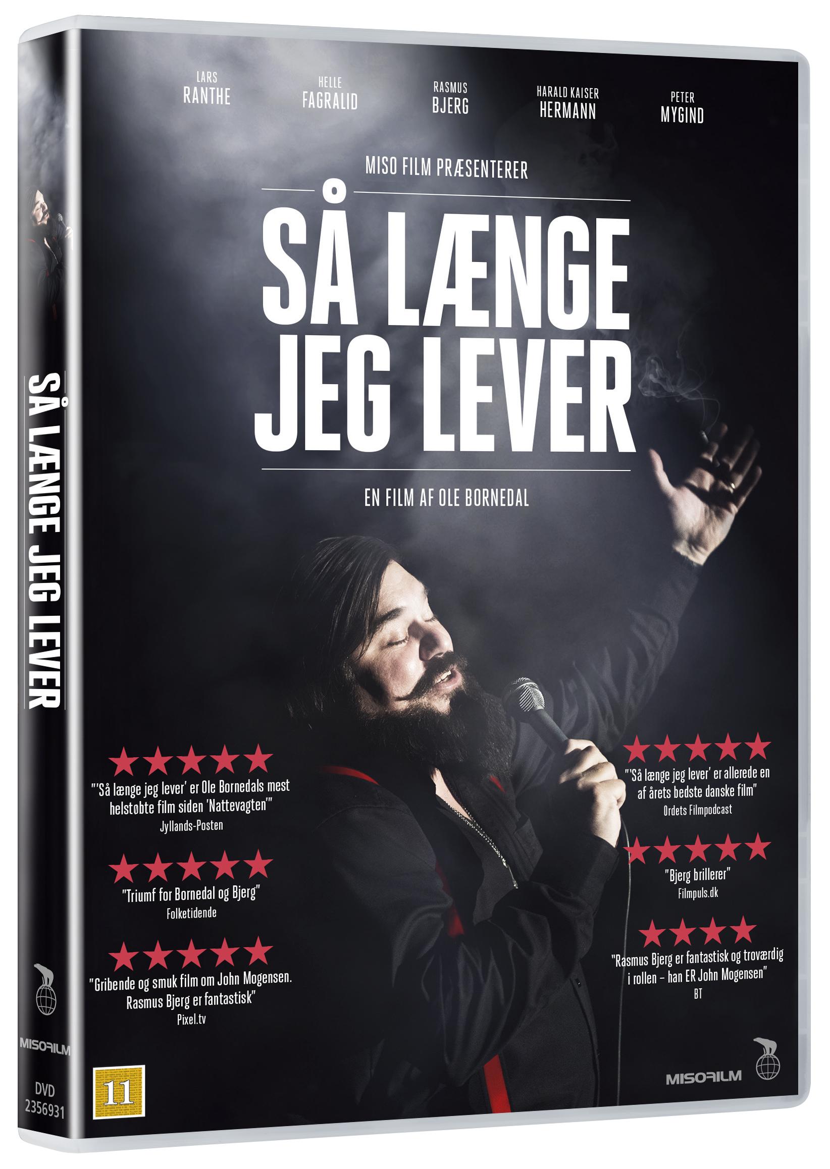 Så Længe Jeg Lever - Filmen Om John Mogensen -  - Film -  - 5708758722261 - 13/9-2018