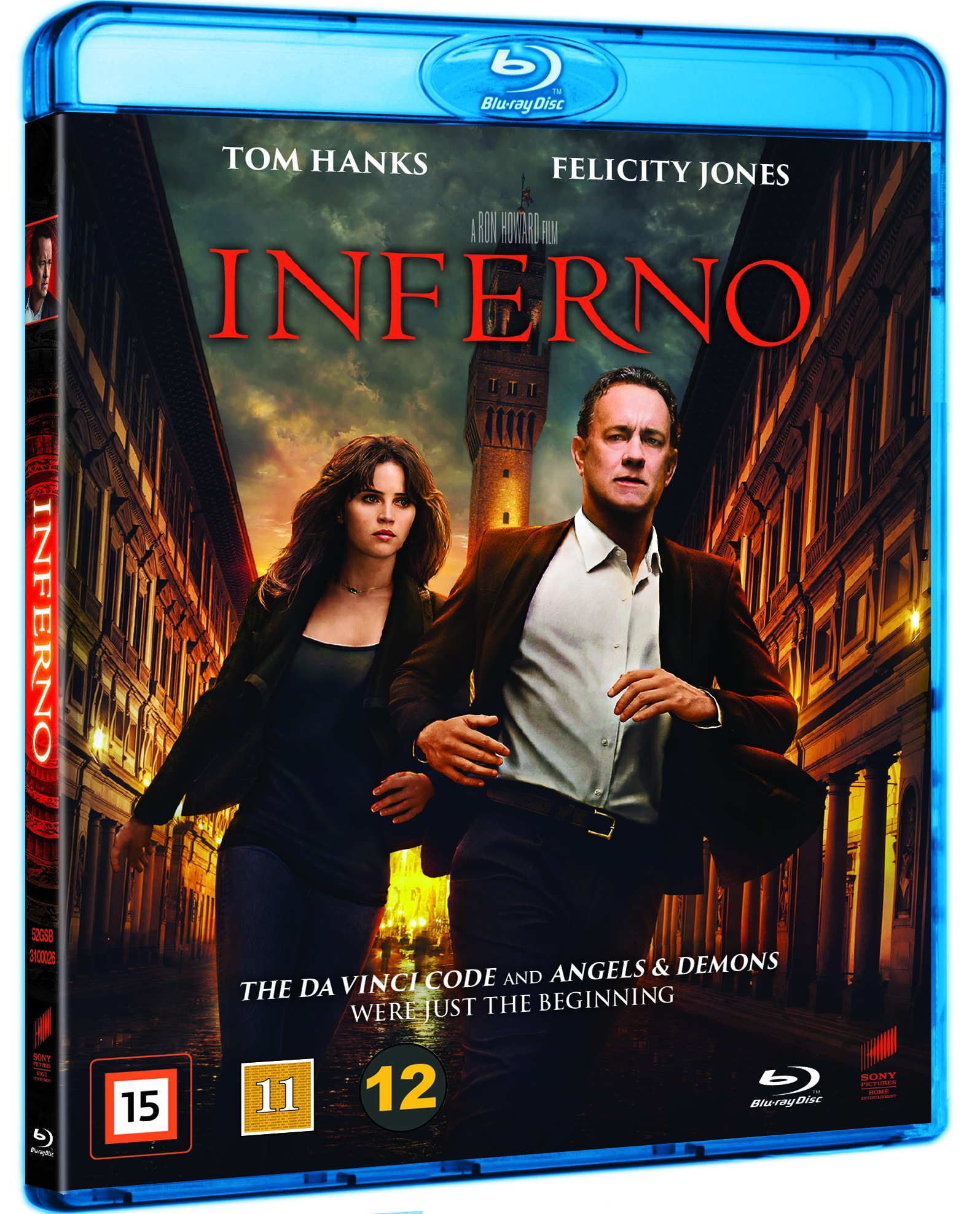 Inferno - Tom Hanks / Felicity Jones - Film - SONY DISTR - FEATURES - 7330031000261 - 2/3-2017