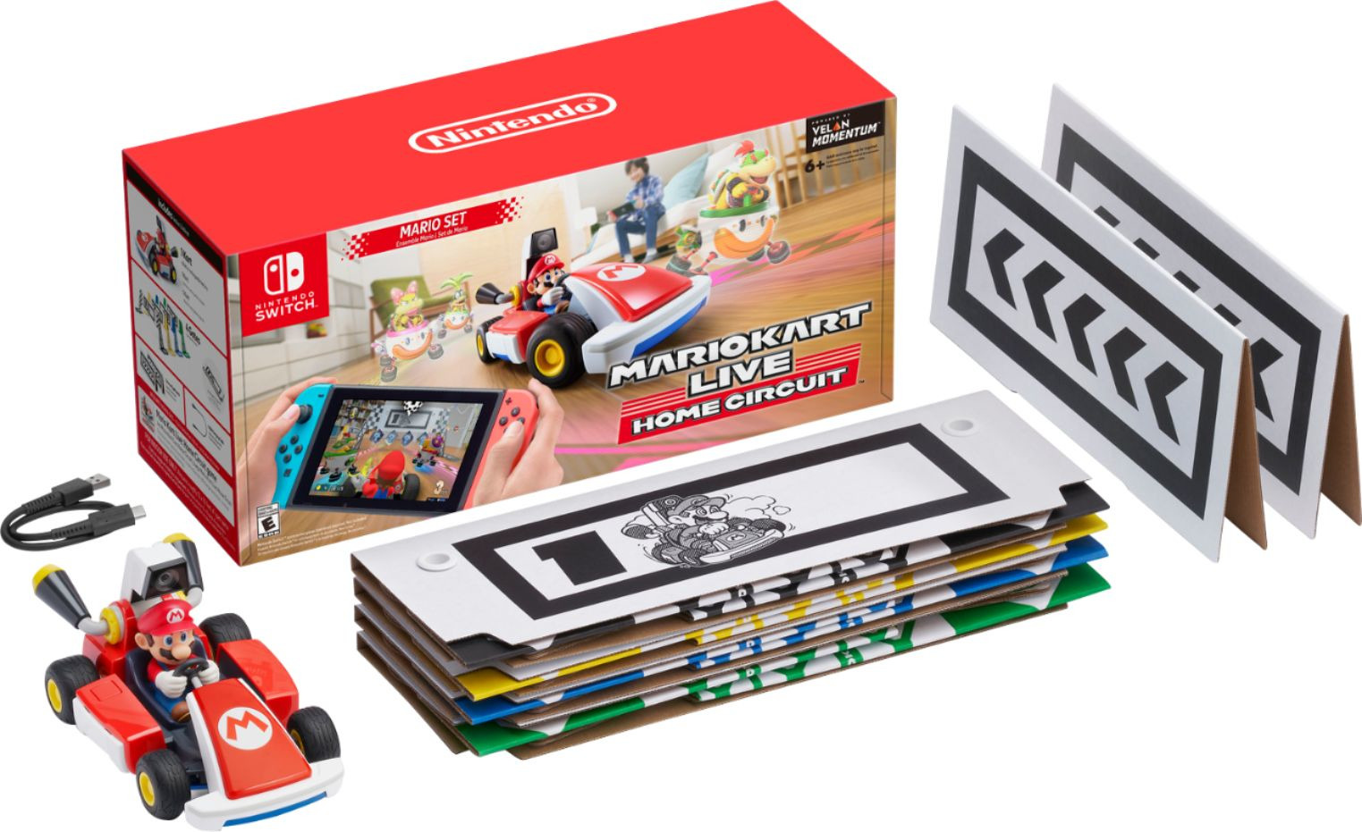 Mario Kart Live Home Circuit  Mario Set Switch - Switch - Andet -  - 0045496426262 -