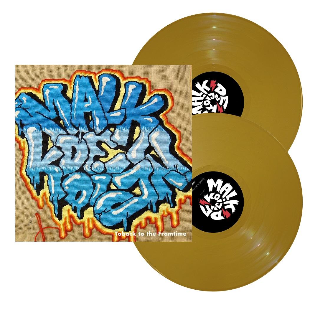 Toback to the Fromtime (Gold Vinyl) - MED SEAM SPLIT - Malk De Koijn - Musik - TAR - 5700907268262 - 5/2-2021