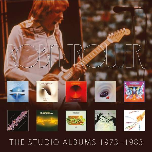The Studio Albums 1973-1983 - Robin Trower - Musik - Chrysalis Records - 5060516091263 - 8/2-2019