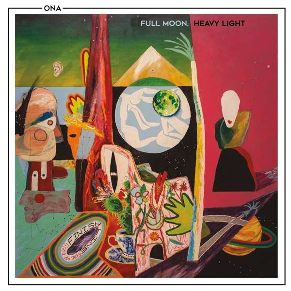 Full Moon, Heavy Light - Ona - Musik - POP - 0752830543270 - May 10, 2019