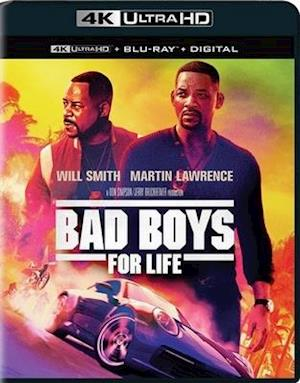 Bad Boys for Life - Bad Boys for Life - Film -  - 0043396549272 - April 21, 2020