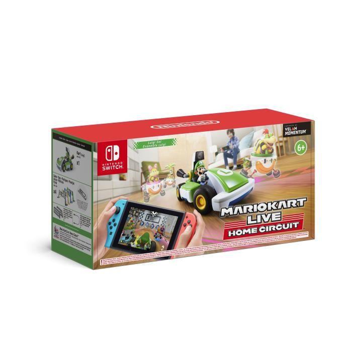 Mario Kart Live Home Circuit  Luigi Set Switch - Switch - Andet -  - 0045496426279 - October 16, 2020