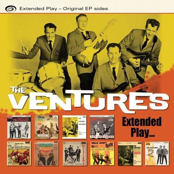 Extended Play - The Ventures - Musik - HIGH NOTE - 0827565061280 - May 26, 2016