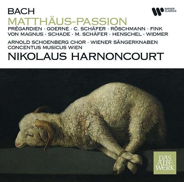 Matthaus-passion - J.s. Bach - Musik - WARNER CLASSICS - 0190295023287 - March 5, 2021