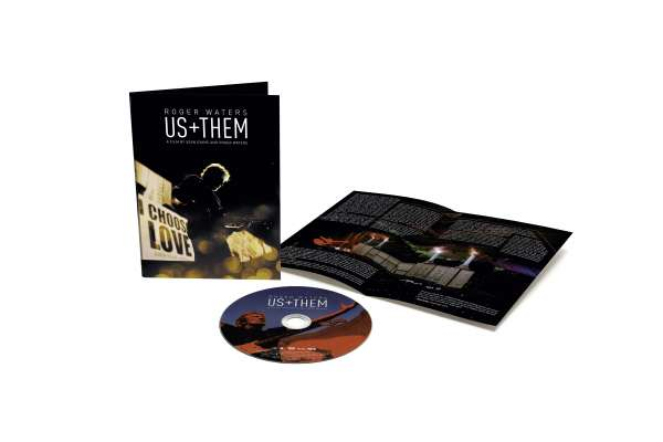 Us + Them - Roger Waters - Film - COLUMBIA - 0194397077292 - October 2, 2020