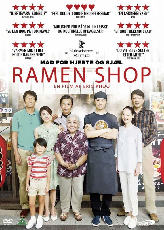 Ramen Shop - Eric Khoo - Film - AWE - 5709498018294 - July 29, 2019
