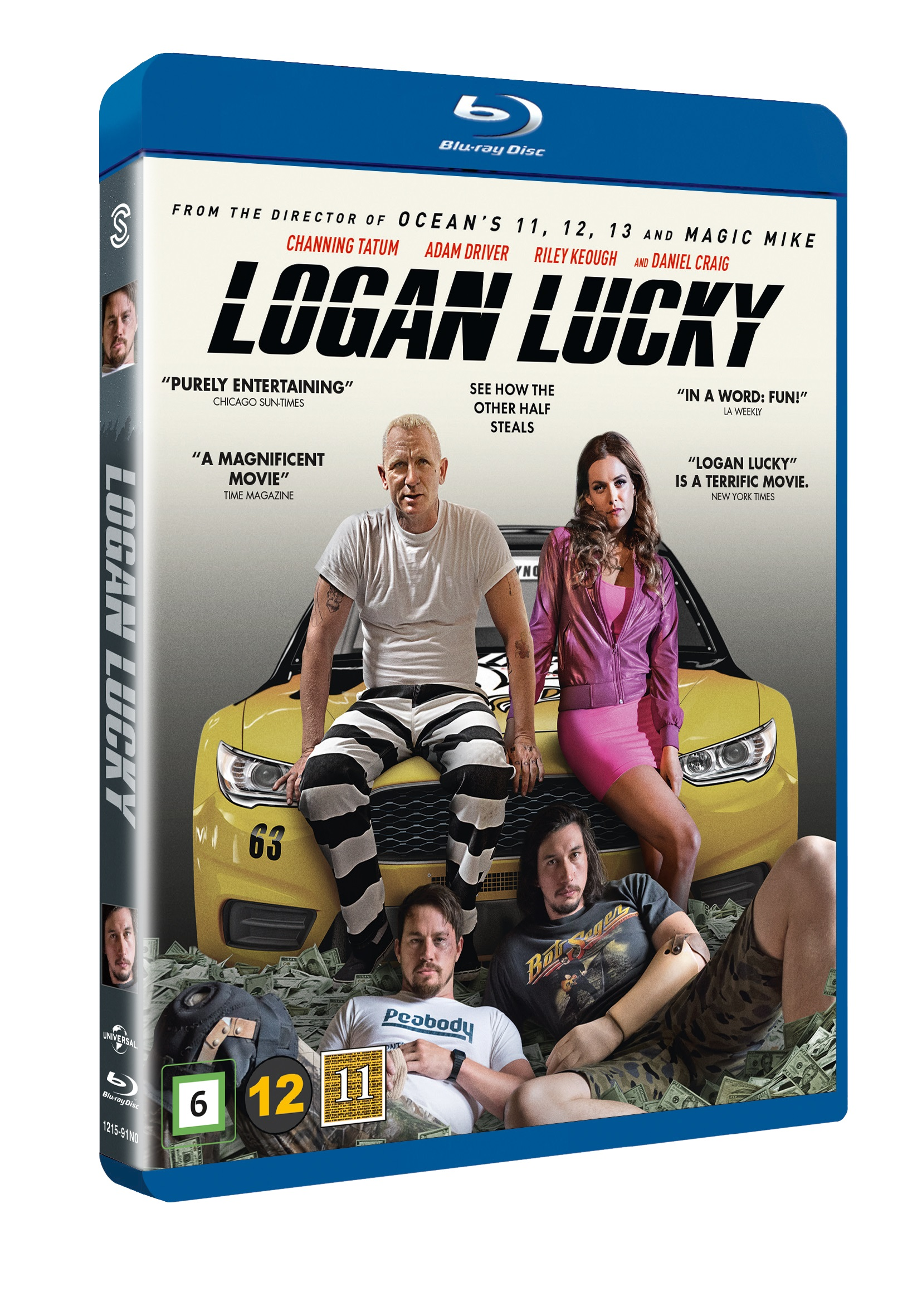 Logan Lucky -  - Film - JV-UPN - 5706169000299 - 11/1-2018