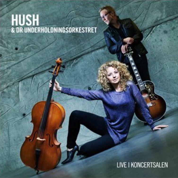 Live i Koncertsalen - Med DR Underholdningsorkestret - Hush - Musik - TARGET RECORDS - 5700907250304 - February 27, 2012