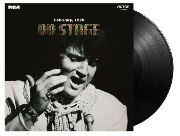 On Stage - Elvis Presley - Musik - MUSIC ON VINYL - 8719262020306 - July 9, 2021