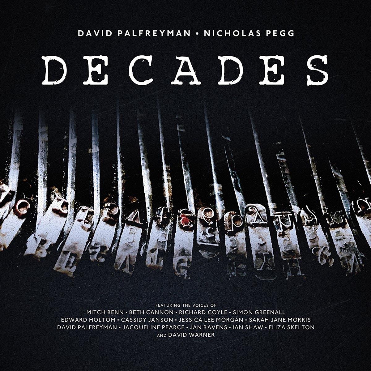 Decades - Palfreyman,david / Pegg,nicholas - Musik - DIT DOT RECORDS - 5024545778311 - 21/7-2017
