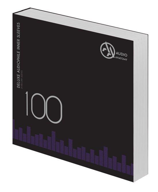 "100 x 12"" Deluxe Audiophile Antistatic Inner Sleeves (White) - Audio Anatomy - Musik - Audio Anatomy - 5906660083313 - 21/10-2017"