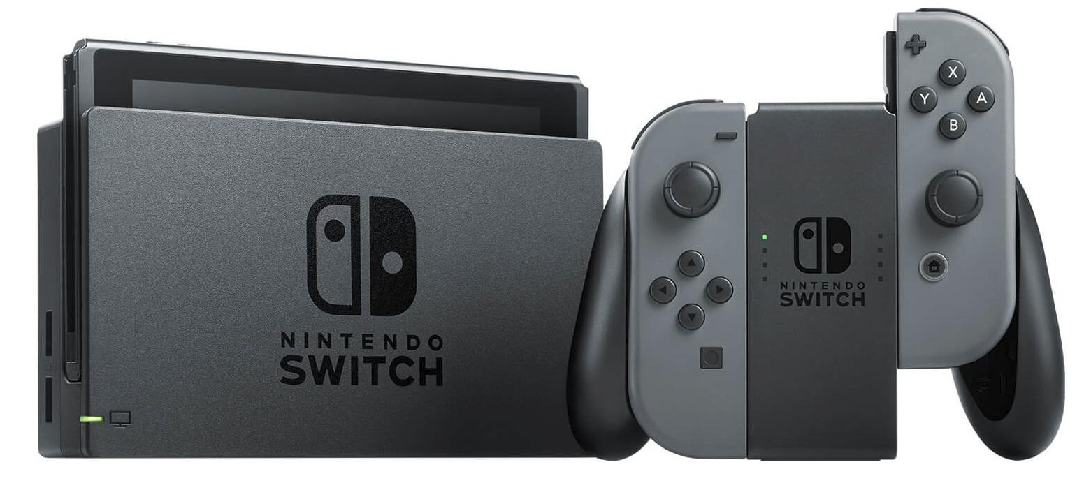 Nintendo Switch Grau,Konsole.2500066 - Switch - Bøger -  - 0045496452315 -
