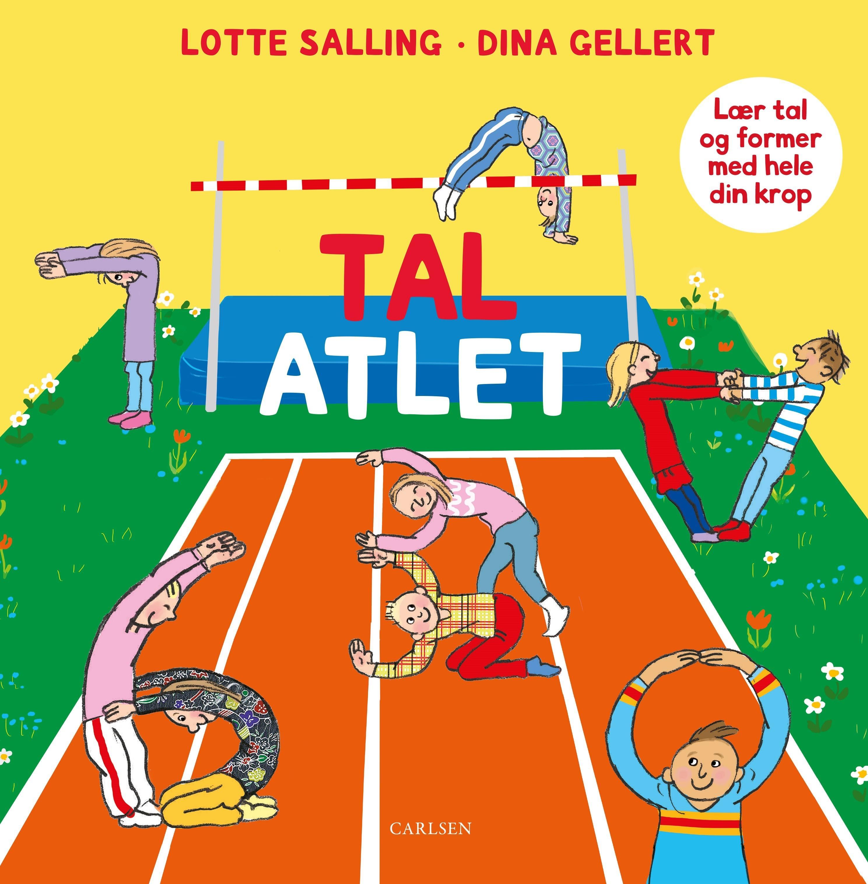 Tal-atlet - Lotte Salling - Bøger - CARLSEN - 9788711905319 - November 1, 2019