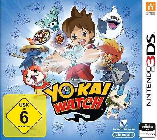 Yo-Kai Watch,N3DS.2232940 - Rollenspiel - Bøger -  - 0045496472320 - 29/4-2016