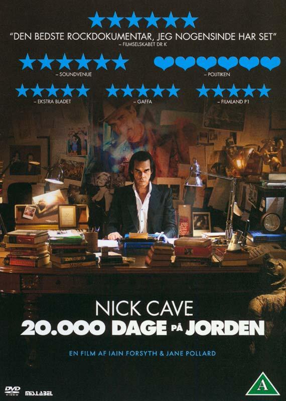 Nick Cave: 20.000 Dage På Jorden - Nick Cave - Film -  - 5705535052320 - 5/2-2015