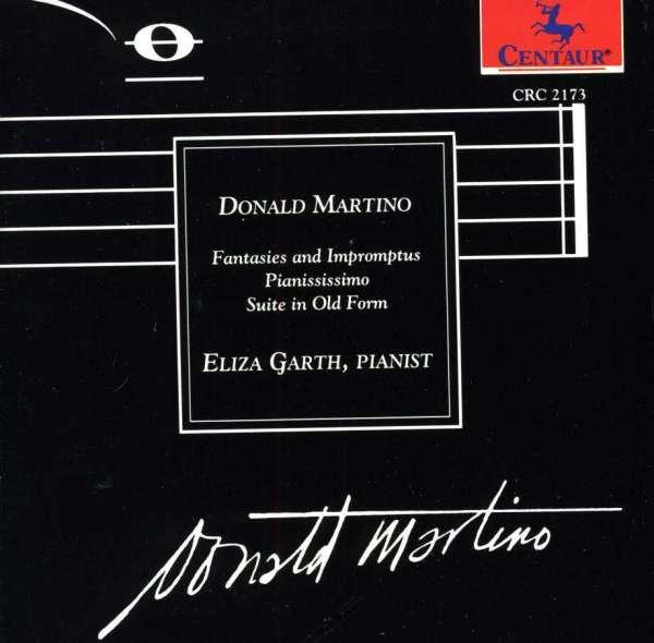 Fantasies & Impromtus / Pianississimo - Martino / Garth - Musik -  - 0044747217321 - 28/12-1993
