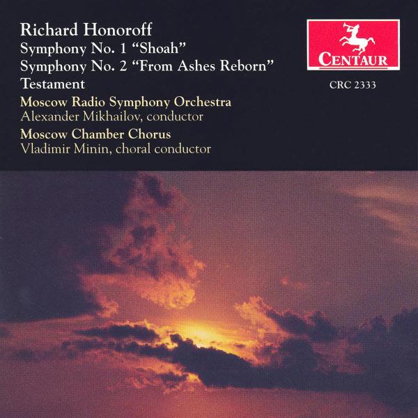 Symphony 1: Shoah / Symphony 2: from Ashes Reborn - Honoroff / Moscow Radio So / Mikhailov - Musik - Centaur - 0044747233321 - 12/8-2000