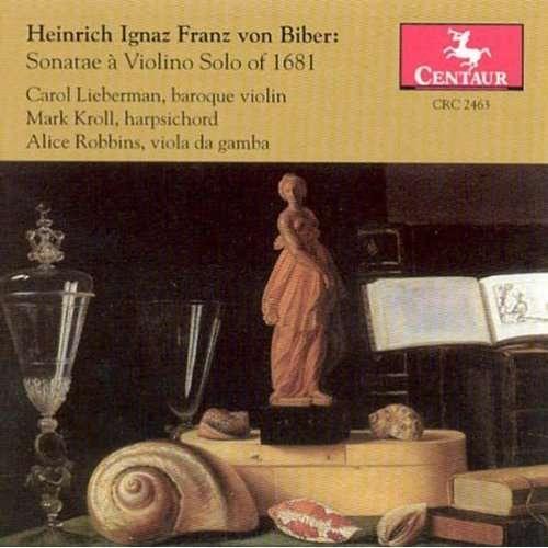 Sonatae a Violino Solo of - H.i.f. Von Biber - Musik - CENTAUR - 0044747246321 - 21/8-2000