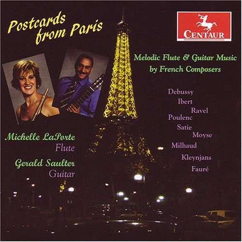 Postcards from Paris - Milhaud / Ravel / Kleynjans / Ibert / Moyse - Musik - DAN - 0044747288321 - November 27, 2007