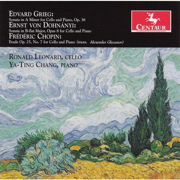 Sonata and Etude - Ya-ting Chang - Musik - CENTAUR - 0044747329321 - 18/2-2014