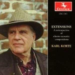 Extensions - Korte / Hellmer / Jensen / Bissell - Musik - Centaur - 0044747236322 - 1/11-1998