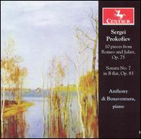 Sonata No 7 from Romeo & Juliet - Prokofiev / Di Bonaventura - Musik - Centaur - 0044747278322 - 30/5-2006