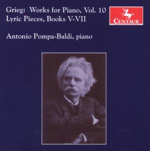 Saemtliche Klavierwerke 1 - E. Grieg - Musik - CENTAUR - 0044747294322 - 6/7-2009