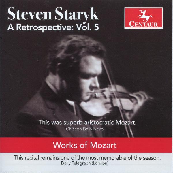 A Retrospective Vol.5 - Steven Staryk - Musik - CENTAUR - 0044747322322 - 30/4-2013