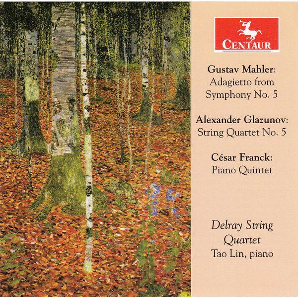 Adagietto from Symphony No.5 - Mahler / Glazunov / Franck - Musik - CENTAUR - 0044747335322 - 5/11-2014