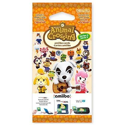 Animal Crossing Happy Home Designer Amiibo 3 Card Pack  Series 2 Multi - Multi - Musik -  - 0045496353322 -