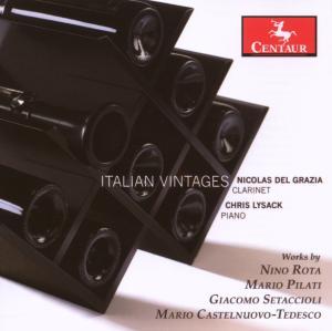 Italian Vintages - Rota / Pilati / Del Grazia / Lysack - Musik - Centaur - 0044747284323 - April 24, 2007