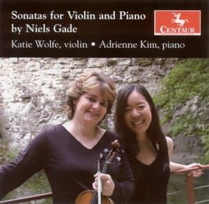 Sonatas for Violin & Piano - Wolfe / Kim - Musik - CENTAUR - 0044747297323 - March 21, 2012