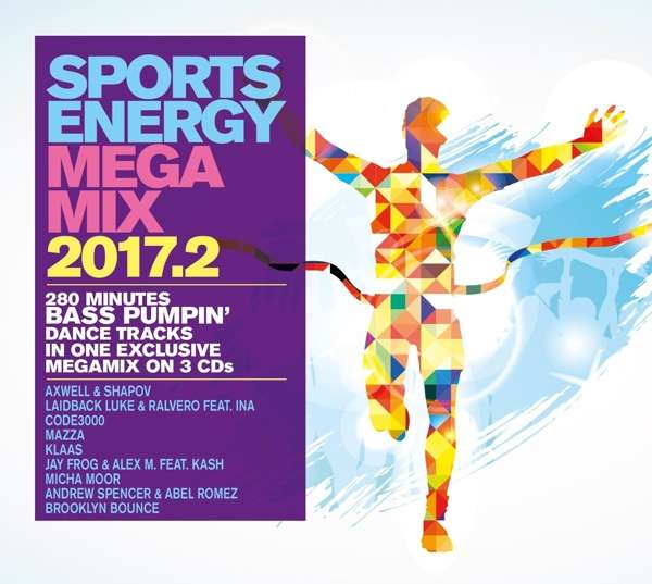 Sports Energy Megamix 2017.2 - V/A - Bøger - I LOVE THIS - 4032989209323 - 1/9-2017